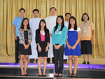 Welcome...  Students from De La Salle University-Dasmarinas,Philippines to La Salle Chanthaburi(Mandapitak) School July 27,2015